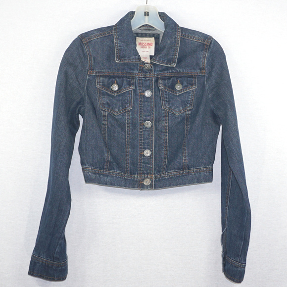 Mossimo Supply Co. Other - Mossimo cropped denim jean jacket EUC S